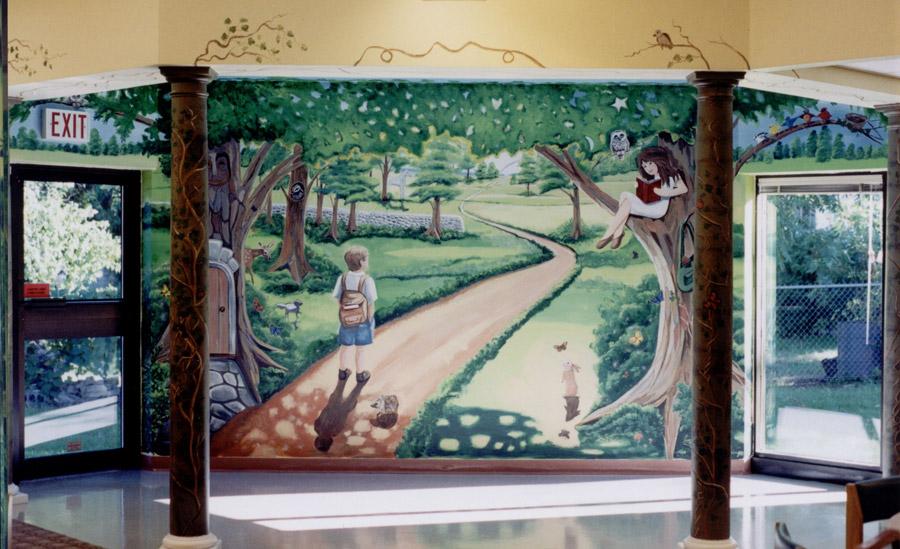 Pelham Public Library Mural
